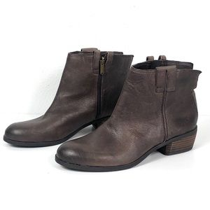 NEW Sam Edelman James Leather Round Toe Bootie
